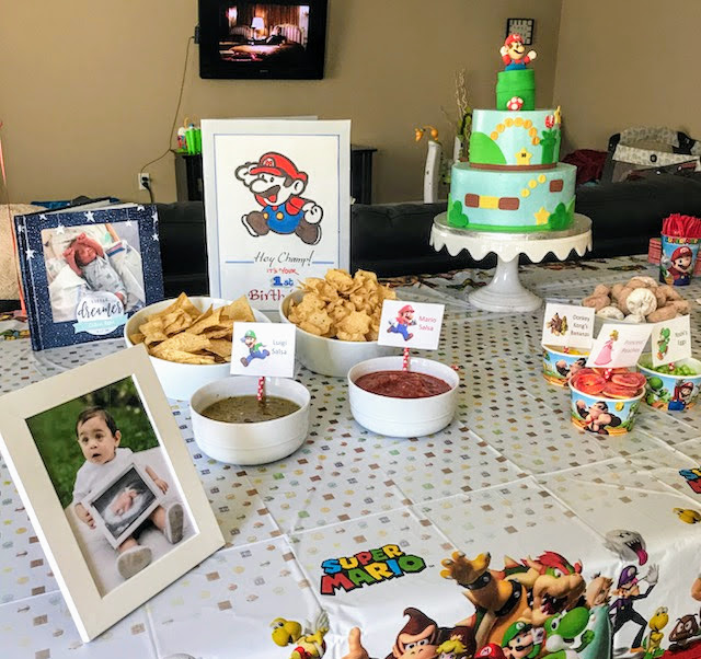 Super Mario Birthday Party